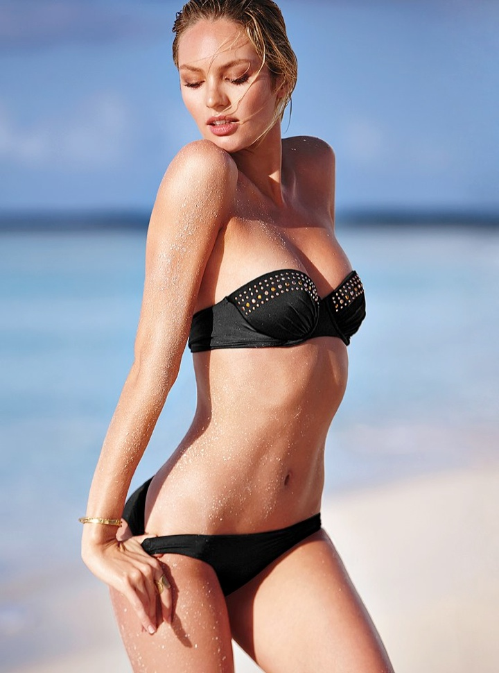 candice swanepoel bikini shoot5 Bombshell Alert! Candice Swanepoel Models Bikinis in Victorias Secret Shoot