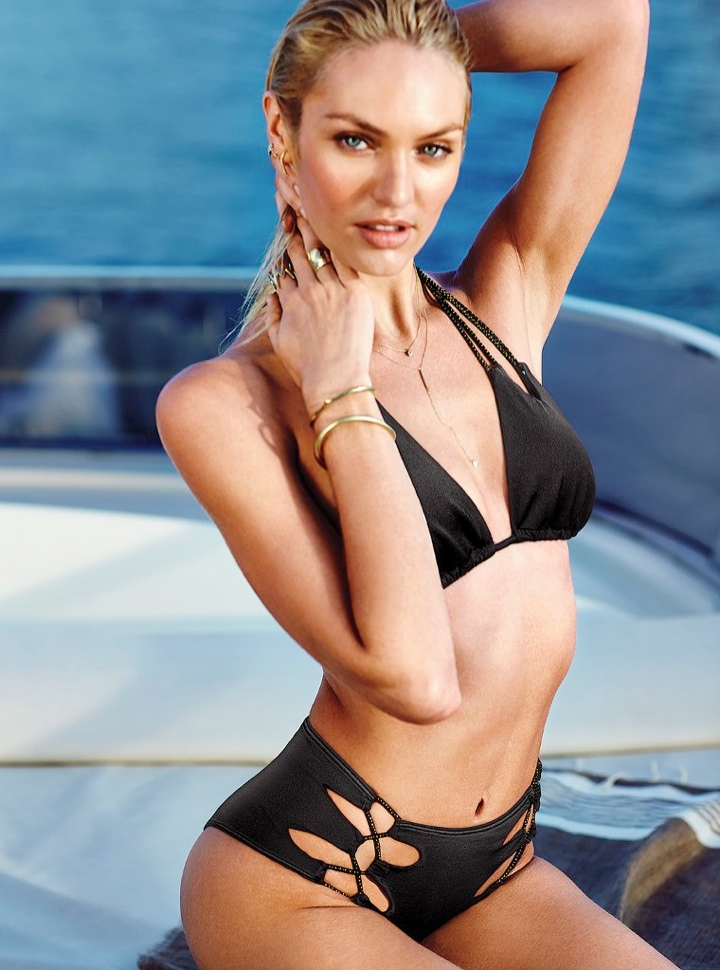 candice swanepoel bikini shoot6 Bombshell Alert! Candice Swanepoel Models Bikinis in Victorias Secret Shoot