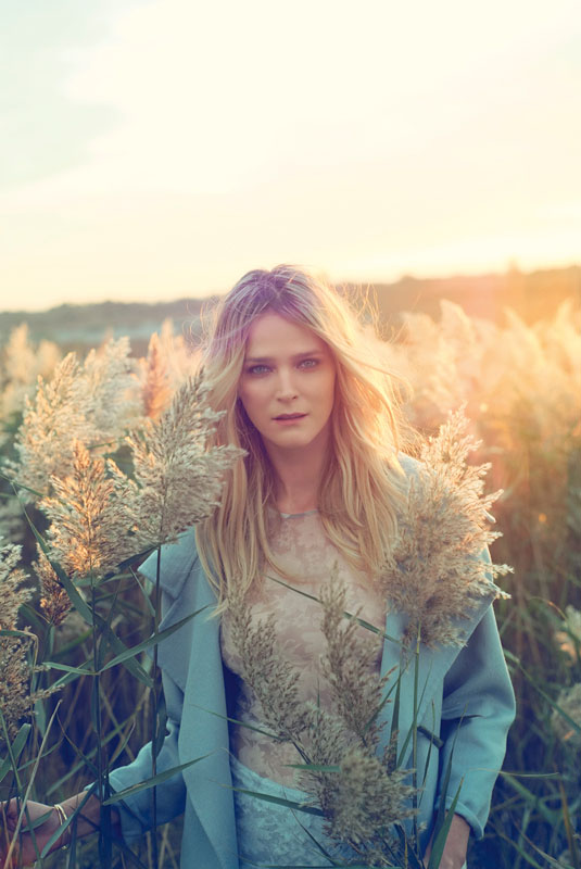Golden Girl: Carmen Kass Shines in Vogue Travel Shoot by Arnaud Pyvka