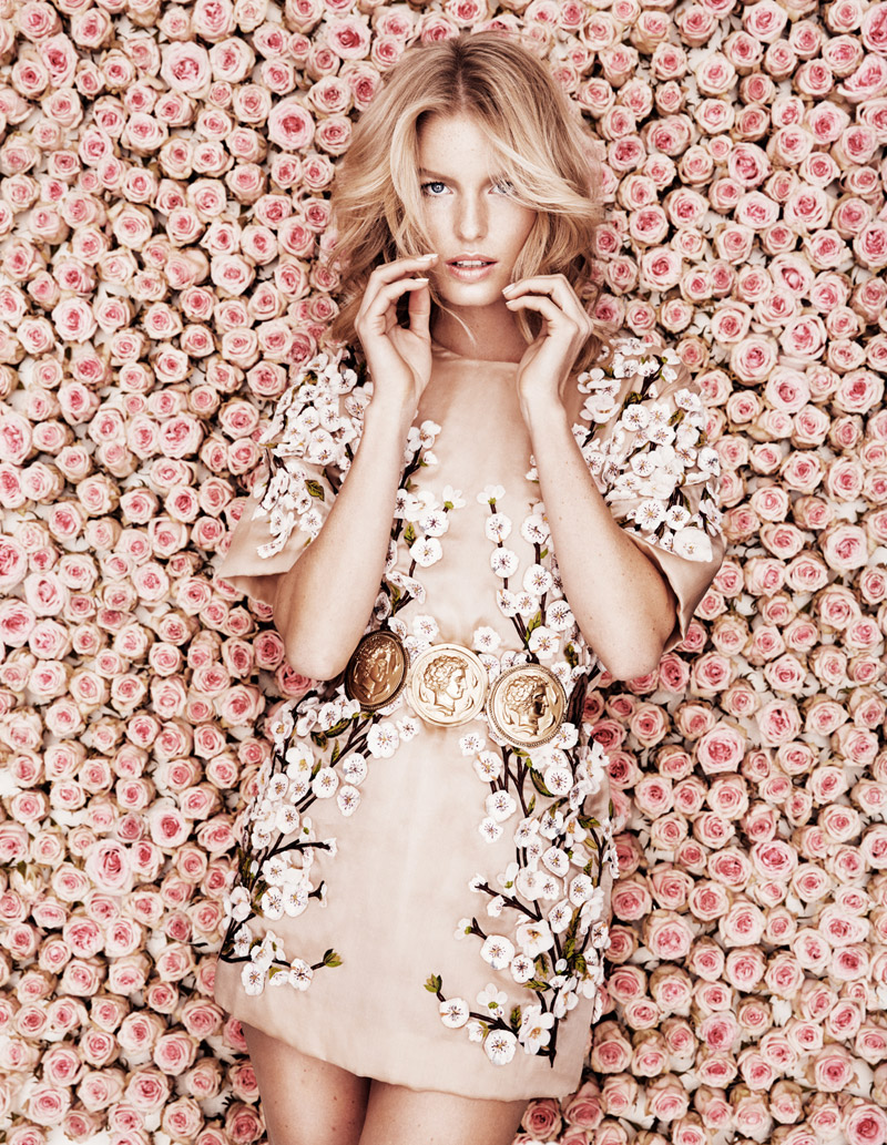 caroline winberg 20142 Caroline Winberg Stars in DV Mode 10th Anniversary Issue by Calle Stoltz