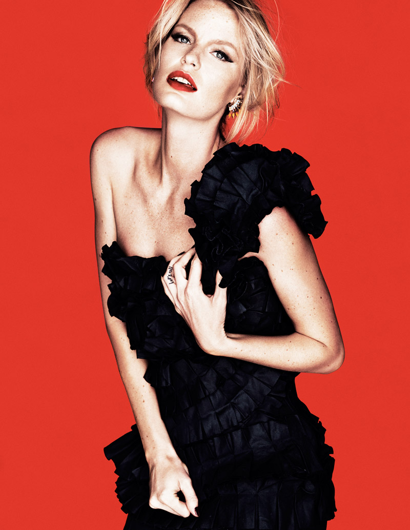 caroline winberg 20144 Caroline Winberg Stars in DV Mode 10th Anniversary Issue by Calle Stoltz