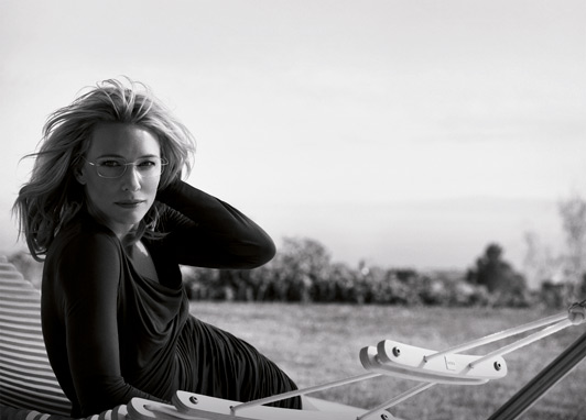 cate blanchett silhouette campaign1 Cate Blanchett is the Face of Silhouette Eyewear