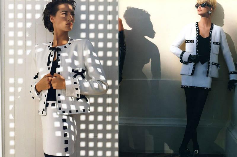 Throwback Thursday | Linda Evangelista & Christy Turlington's Chanel Ads Are Very 90s