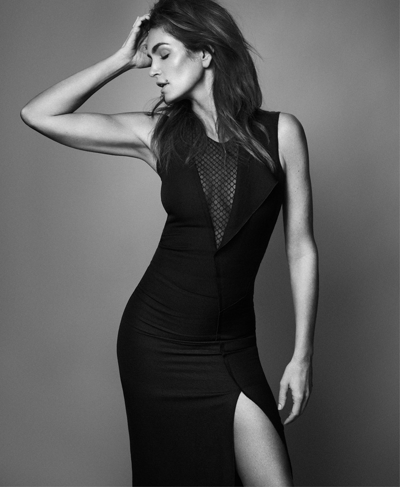 cindy crawford xavi gordo10 Supermodel Cindy Crawford Stuns for Xavi Gordo in Bazaar Russia Shoot