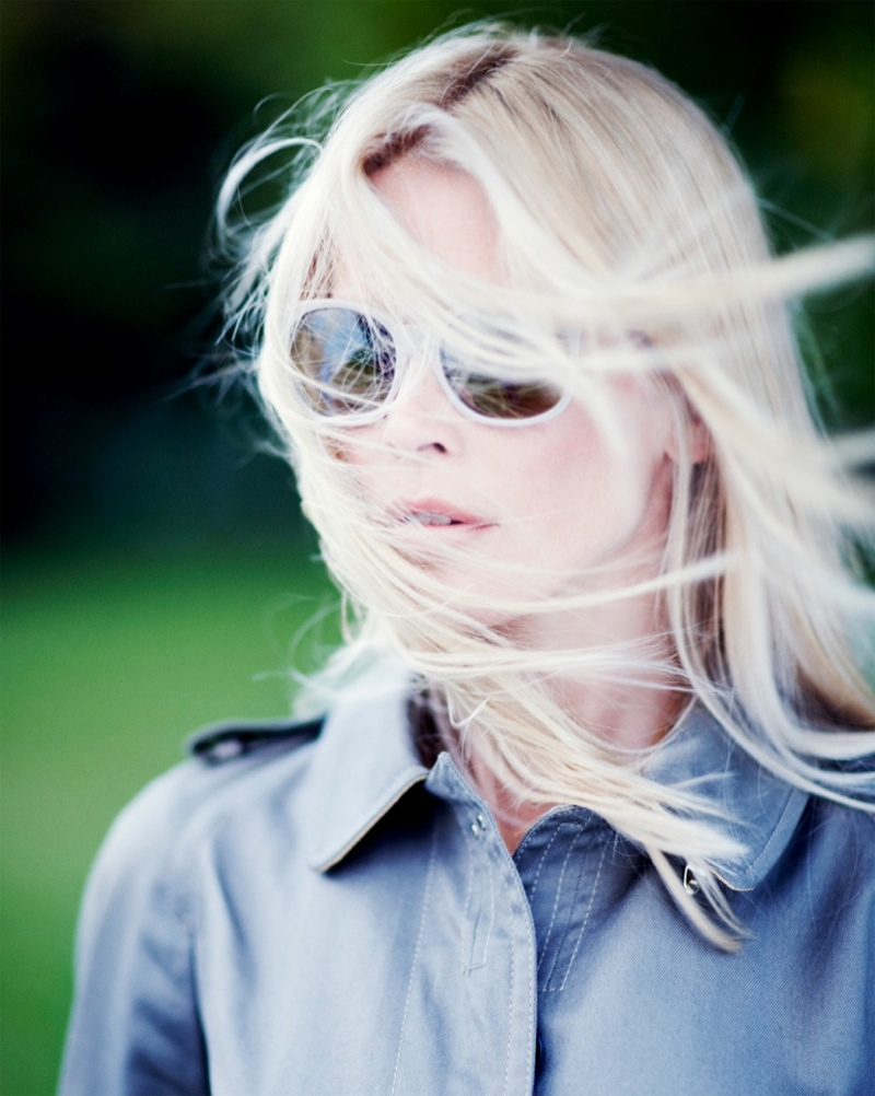 claudia schiffer rodenstock1 Claudia Schiffer Lands 2014 Rodenstock Eyewear Ads