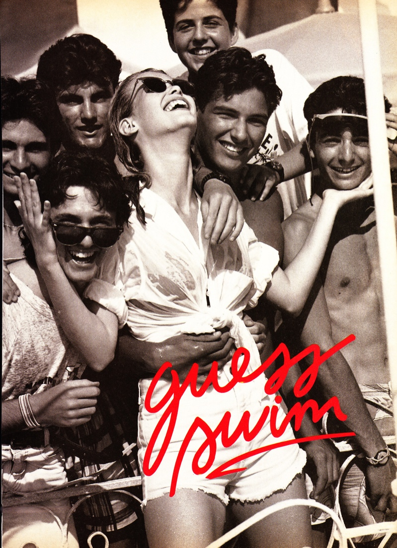 claudia schiffer vintage guess ads1 Throwback Thursday | Claudia Schiffer is a Bombshell in 1989 Guess Ads