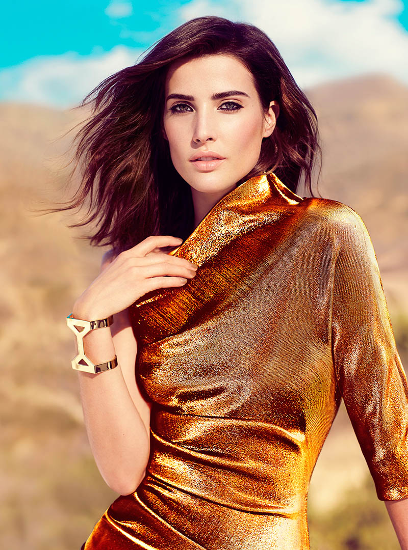 cobie smulders1 Cobie Smulders Gets Glam in FASHION Shoot by Chris Nicholls