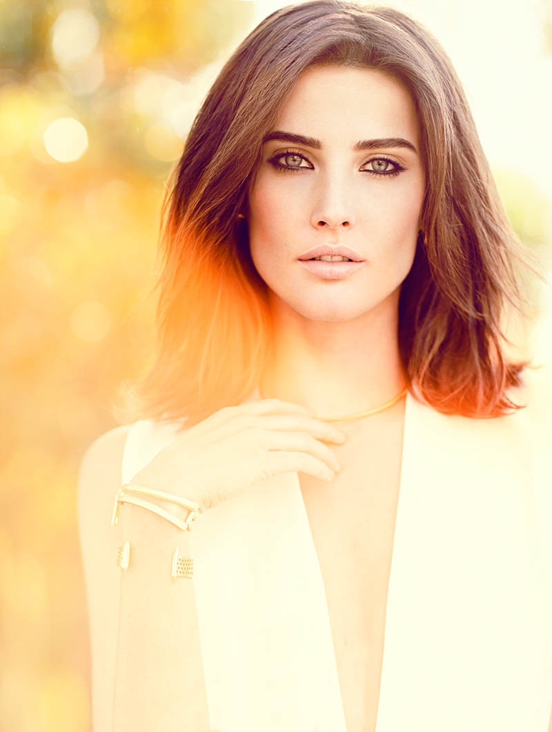 cobie smulders3 Cobie Smulders Gets Glam in FASHION Shoot by Chris Nicholls