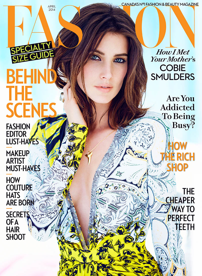 cobie smulders4 Cobie Smulders Gets Glam in FASHION Shoot by Chris Nicholls