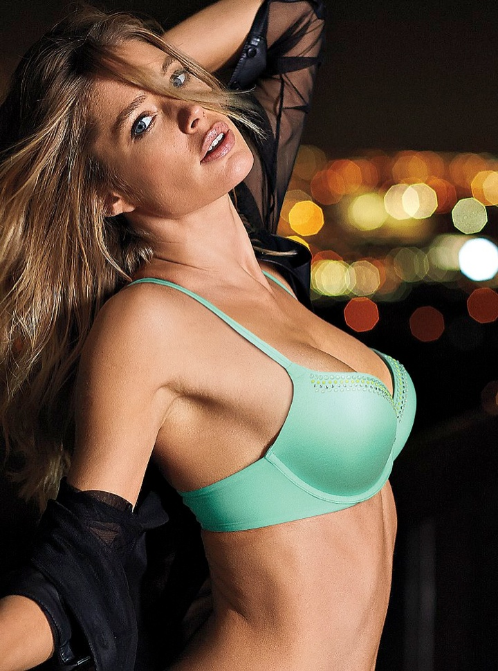 doutzen vs lingerie9 Doutzen Kroes Wows in New Victorias Secret Photos