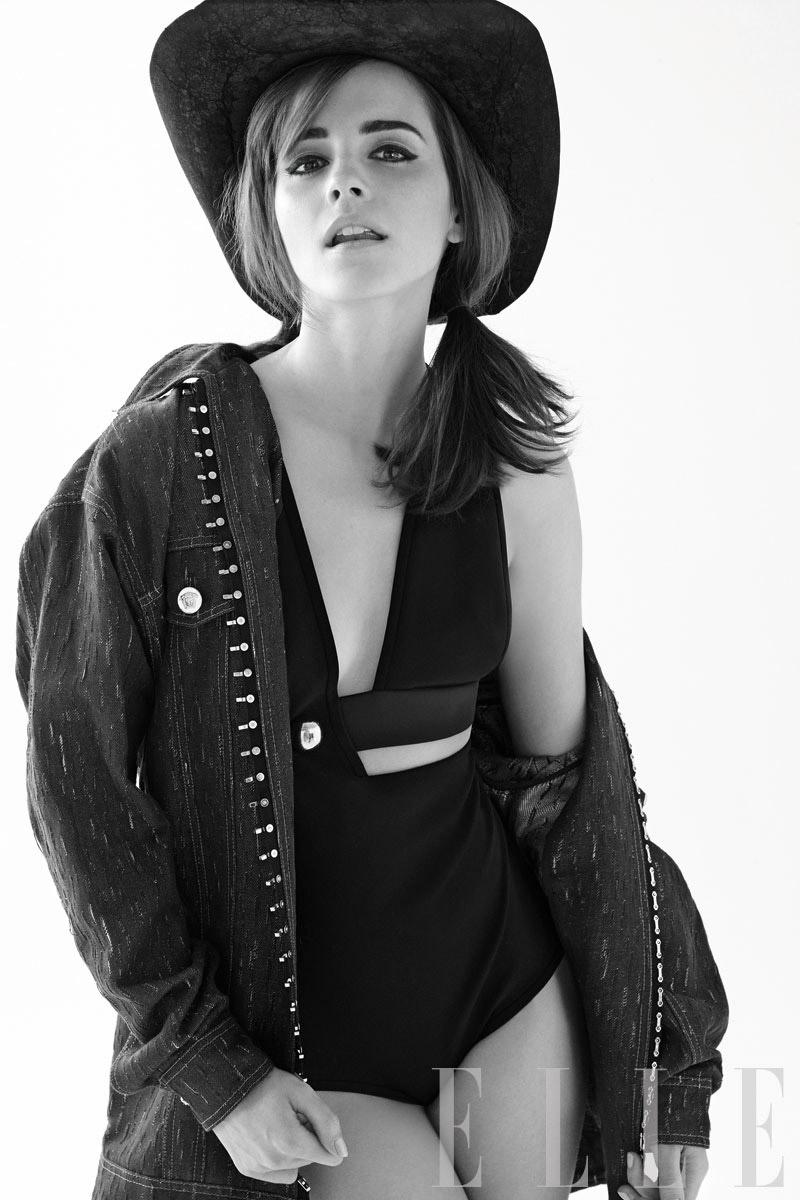 Emma Watson Lands Elle Cover, Talks Growing Up in the Spotlight