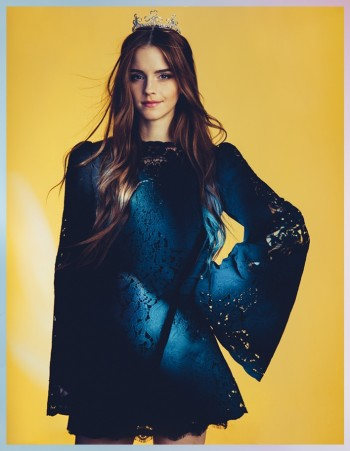 Emma Watson Enchants for Wonderland Magazine by Christian Oita