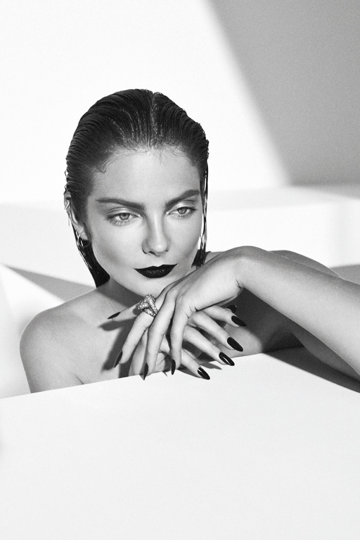eniko mihalik xoxo shoot13 Eniko Mihalik Stuns for XOXO the Mags March 2014 Issue