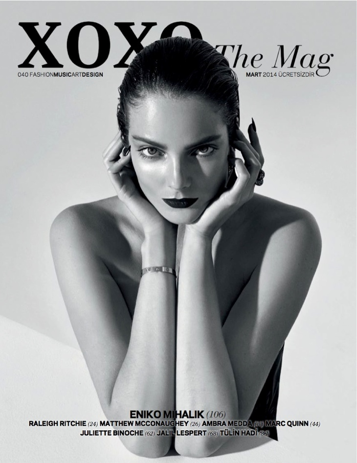 eniko mihalik xoxo shoot16 Eniko Mihalik Stuns for XOXO the Mags March 2014 Issue