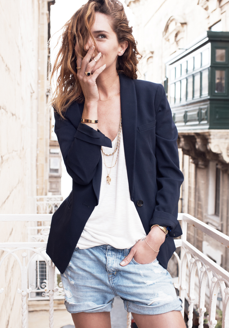 erin wasson madewell spring 2014 campaign1 Erin Wasson Exudes Spring Casual in Madewells Latest Campaign