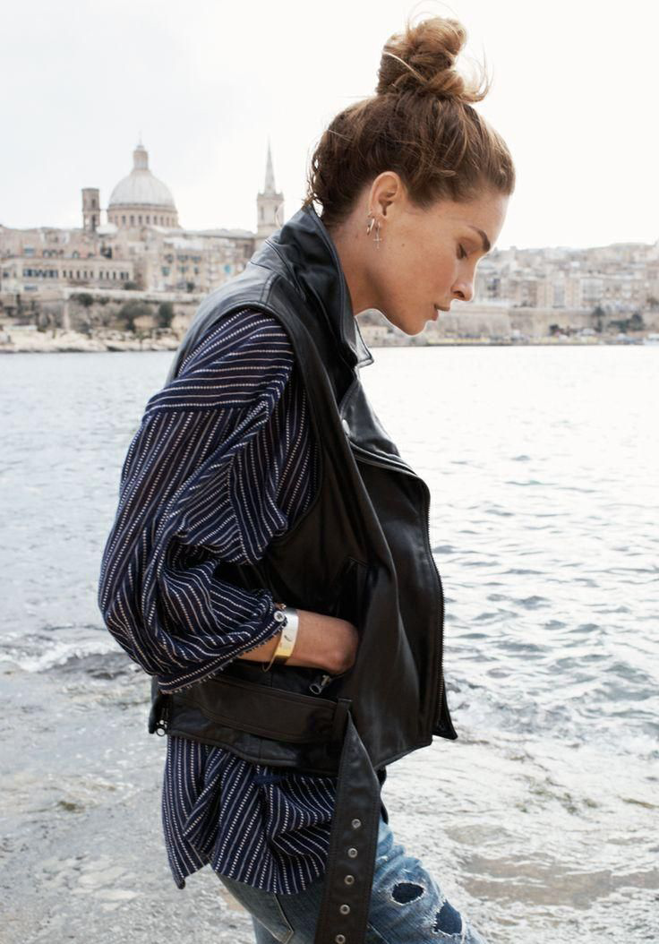 erin wasson madewell spring 2014 campaign11 Erin Wasson Exudes Spring Casual in Madewells Latest Campaign