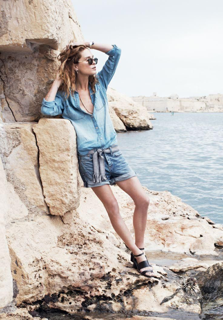 erin wasson madewell spring 2014 campaign12 Erin Wasson Exudes Spring Casual in Madewells Latest Campaign