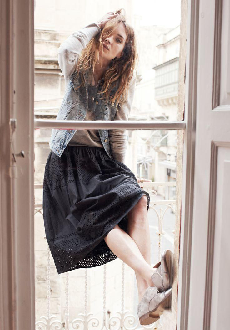 erin wasson madewell spring 2014 campaign13 Erin Wasson Exudes Spring Casual in Madewells Latest Campaign