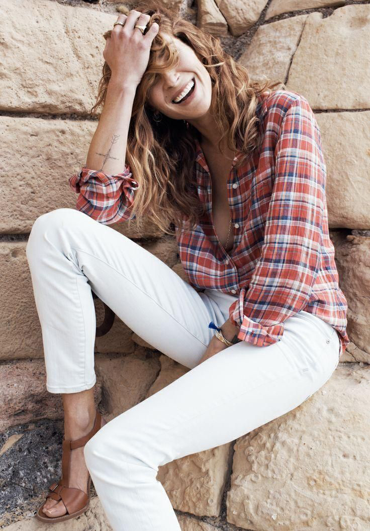 erin wasson madewell spring 2014 campaign2 Erin Wasson Exudes Spring Casual in Madewells Latest Campaign
