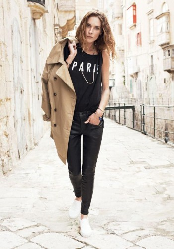 Erin Wasson Exudes Spring Casual in Madewell's Latest Campaign