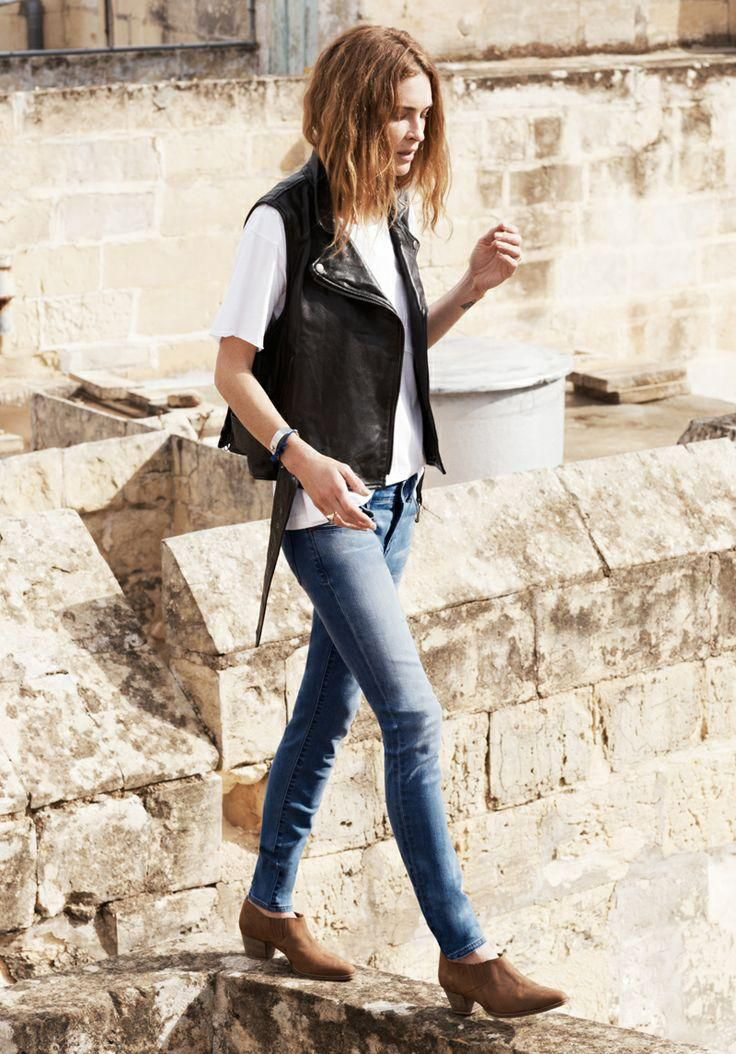 erin wasson madewell spring 2014 campaign8 Erin Wasson Exudes Spring Casual in Madewells Latest Campaign