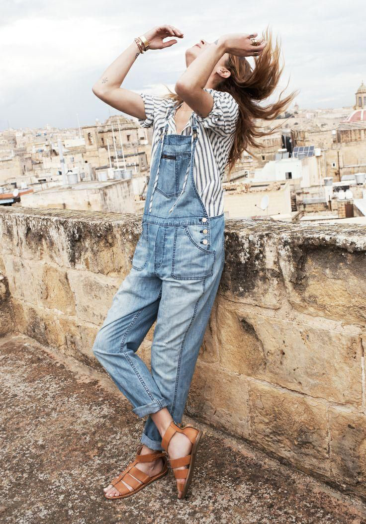 erin wasson madewell spring 2014 campaign9 Erin Wasson Exudes Spring Casual in Madewells Latest Campaign