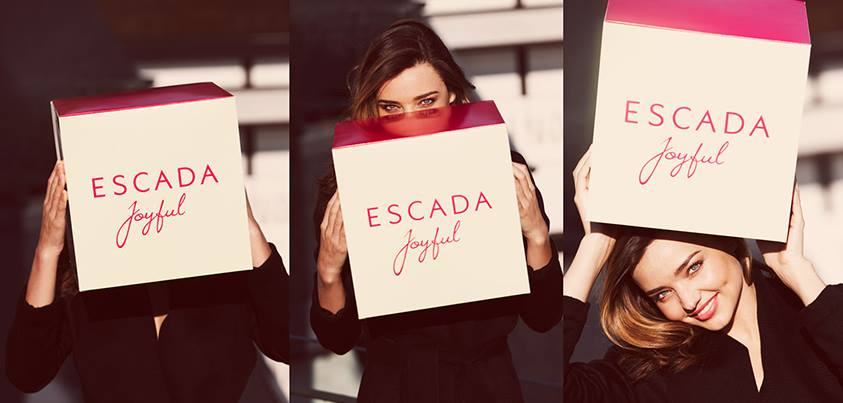 Miranda Kerr for Escada promo / Courtesy of Escada Facebook