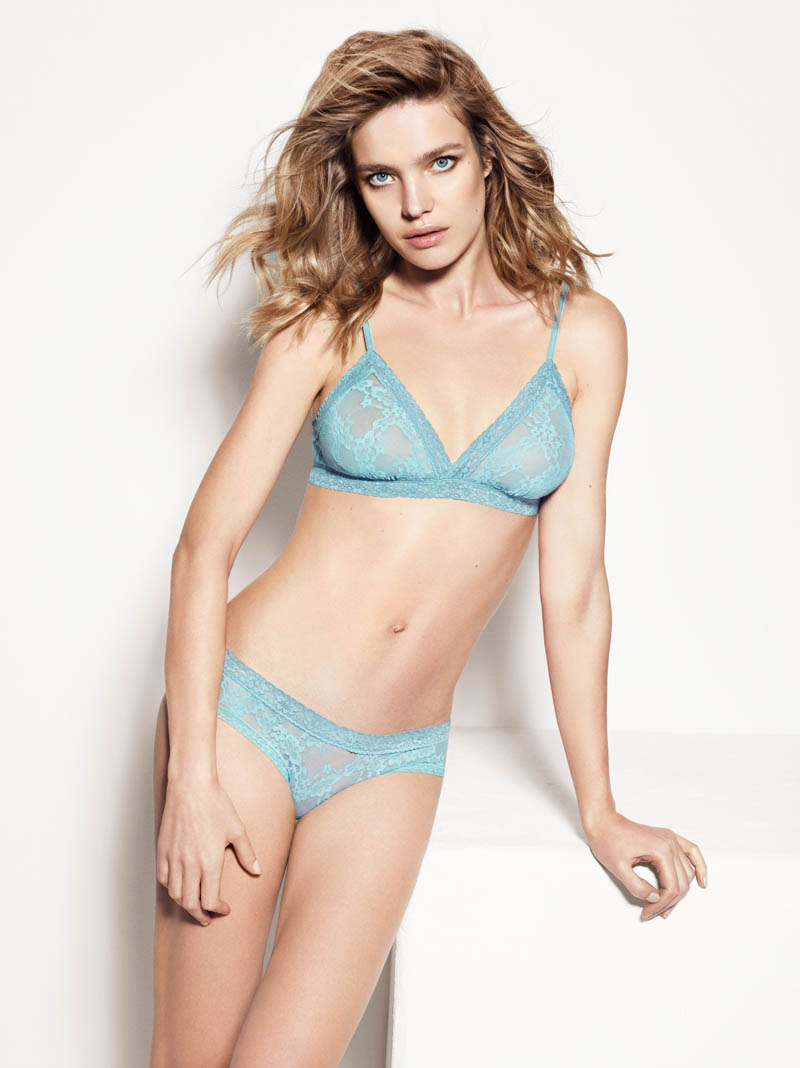 etam lingerie spring 2014 collection11 Bedroom Eyes: Natalia Vodianova Models Etams Spring 2014 Lingerie Line