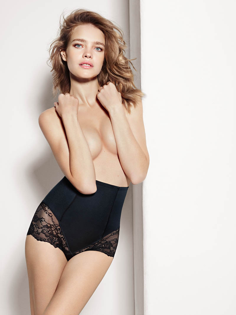 etam lingerie spring 2014 collection17 Bedroom Eyes: Natalia Vodianova Models Etams Spring 2014 Lingerie Line