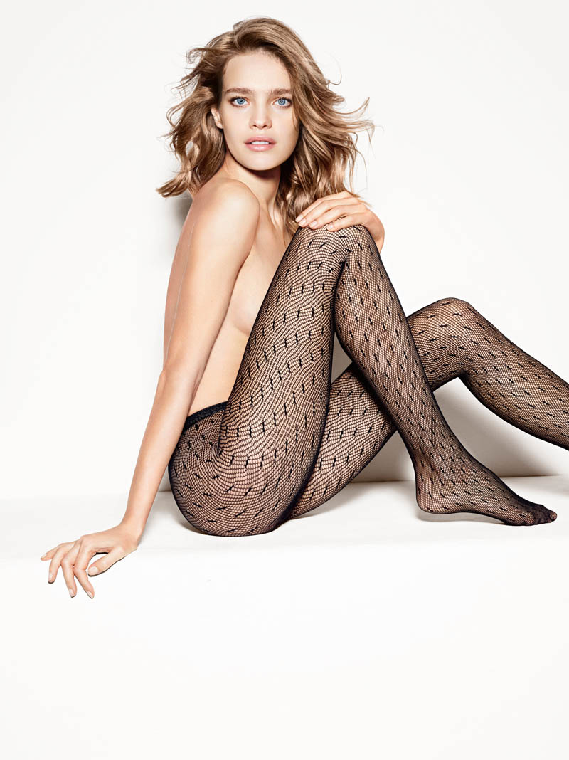 etam lingerie spring 2014 collection4 Bedroom Eyes: Natalia Vodianova Models Etams Spring 2014 Lingerie Line