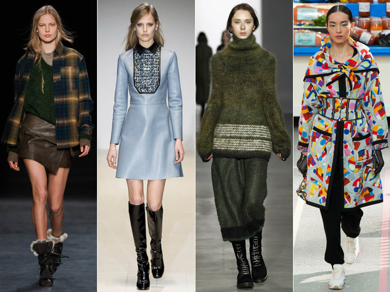 fall 2014 fashion trends Top 5 Fall/Winter 2014 Trends From Paris, London, New York & Milan