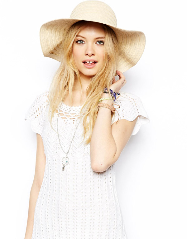 floppy straw hat 5 Spring Break Must Haves | From Bikinis to Sunglasses