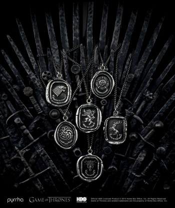 "Pyrrha & ""Game of Thrones"" Partner Up for Jewelry Line"