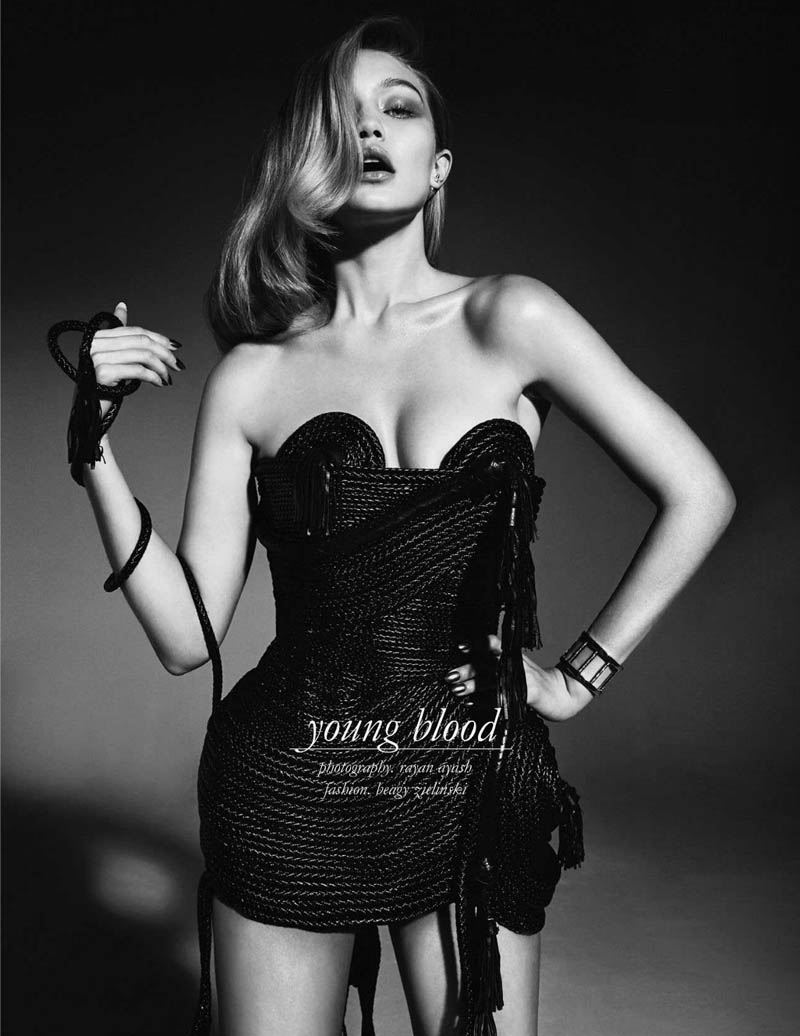 gigi hadid photo shoot1 Gigi Hadid Sizzles in Schon Shoot by Rayan Ayash