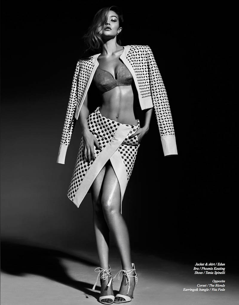 gigi hadid photo shoot2 Gigi Hadid Sizzles in Schon Shoot by Rayan Ayash