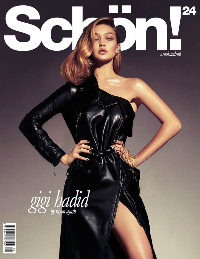 gigi hadid photo shoot8 Gigi Hadid Sizzles in Schon Shoot by Rayan Ayash