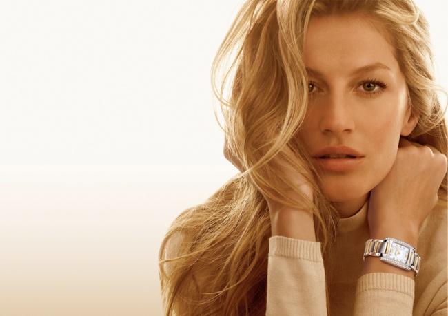 Throwback Thursday | Gisele Bundchen Shines in 2008 Ebel Ads