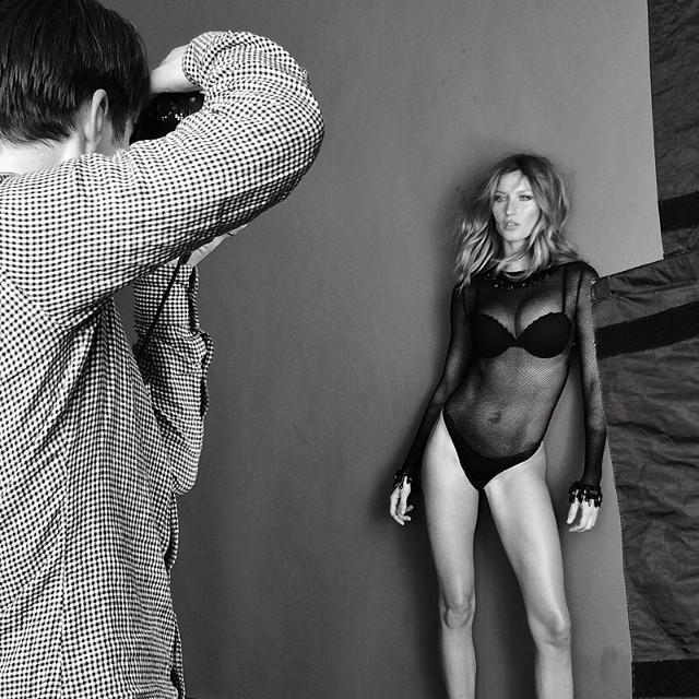 gisele intimates instagram Instagram Photos of the Week | Naomi Campbell, Angela Lindvall + More Models