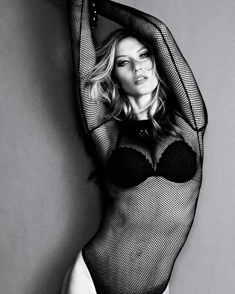 gisele marie claire brazil Gisele Bundchen in Lingerie for Marie Claire Brazil April 2014 Cover