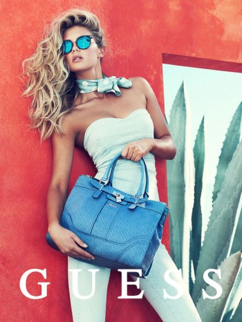 Megan Williams + Heather Depries Model for Guess Accessories Spring '14 Ads by Pulmanns