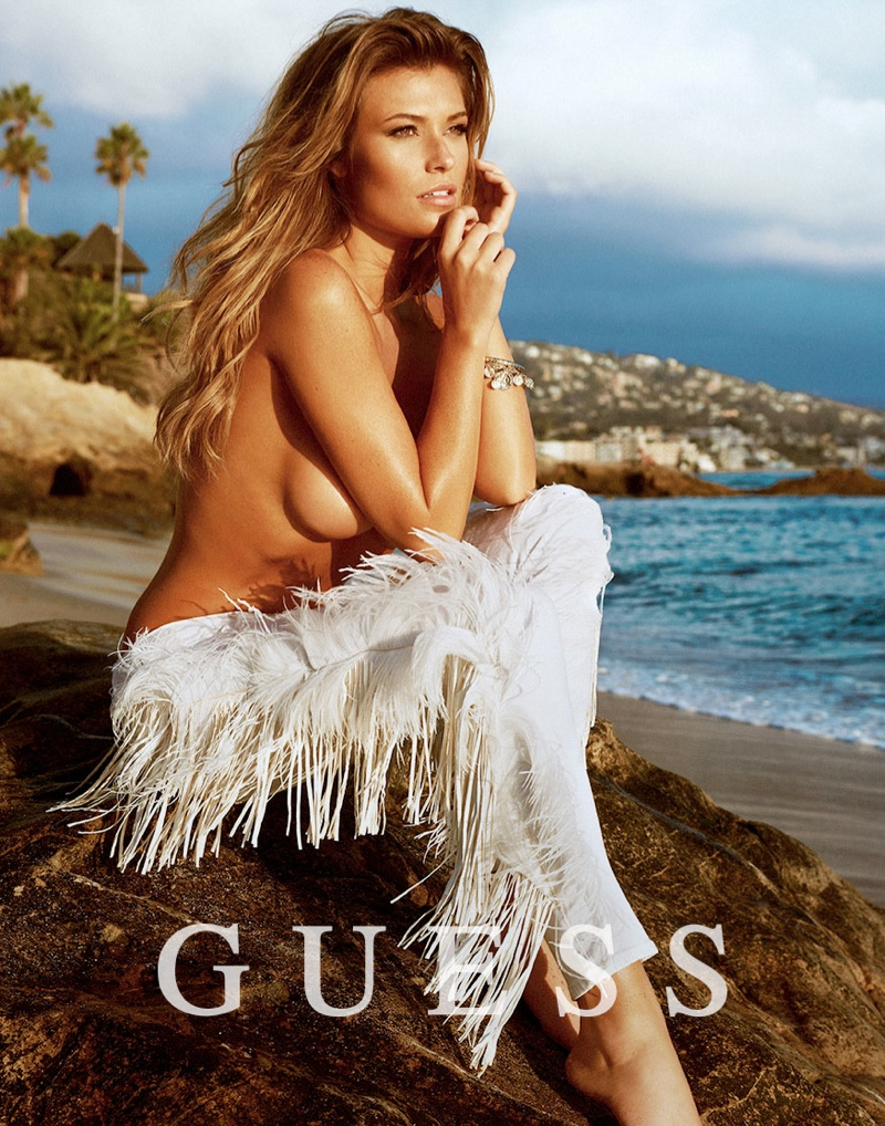 guess spring summer 2014 campaign131 Samantha Hoopes, Danielle Knudson + Olivia Greenfield Star in Guess Spring/Summer 2014 Campaign