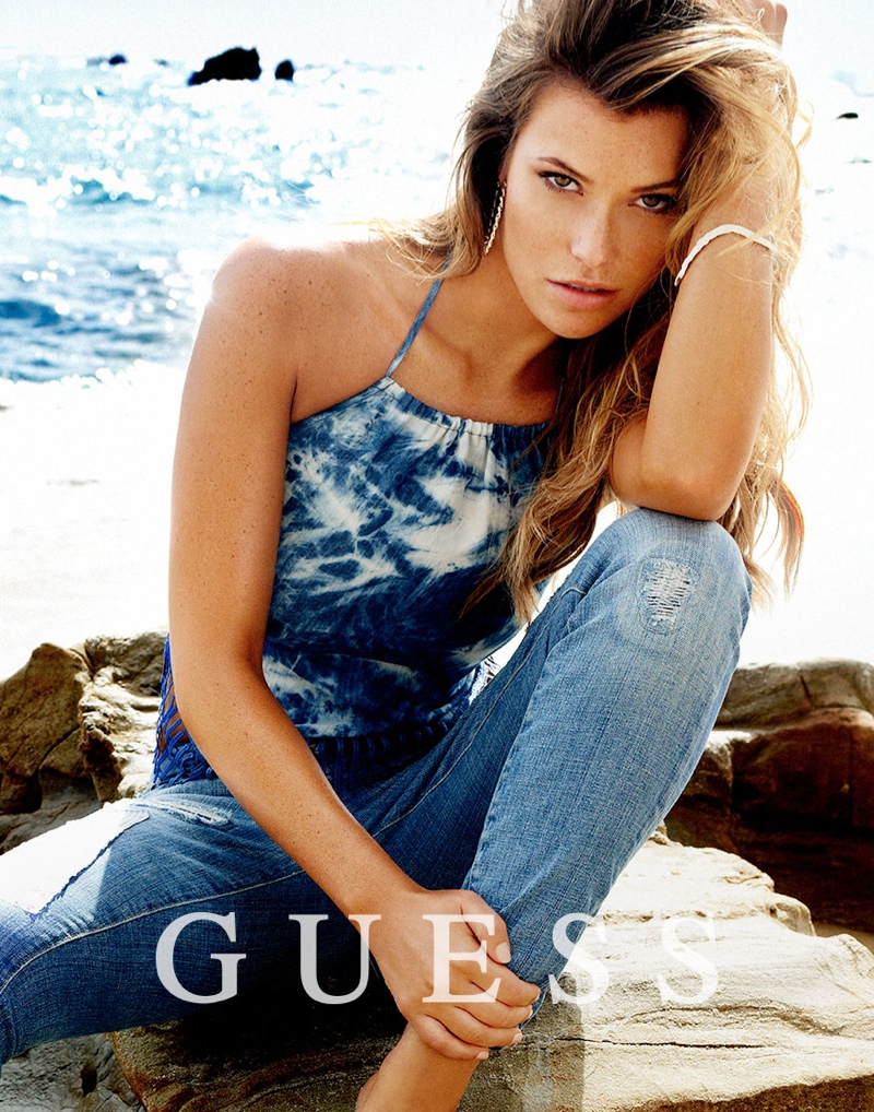 guess spring summer 2014 campaign141 Samantha Hoopes, Danielle Knudson + Olivia Greenfield Star in Guess Spring/Summer 2014 Campaign