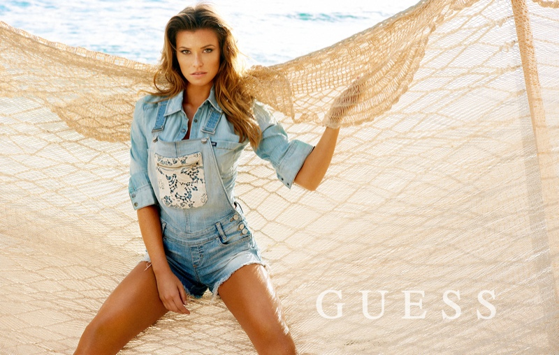 guess spring summer 2014 campaign151 Samantha Hoopes, Danielle Knudson + Olivia Greenfield Star in Guess Spring/Summer 2014 Campaign