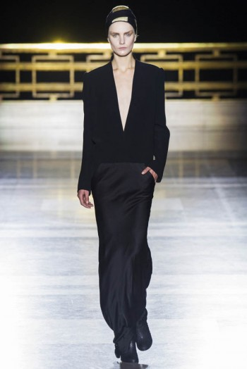 Haider Ackermann Fall/Winter 2014   Paris Fashion Week