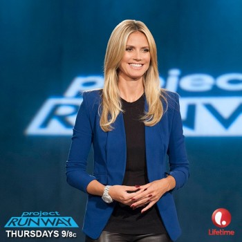 """Project Runway"" host Heidi Klum / Image: Lifetime"