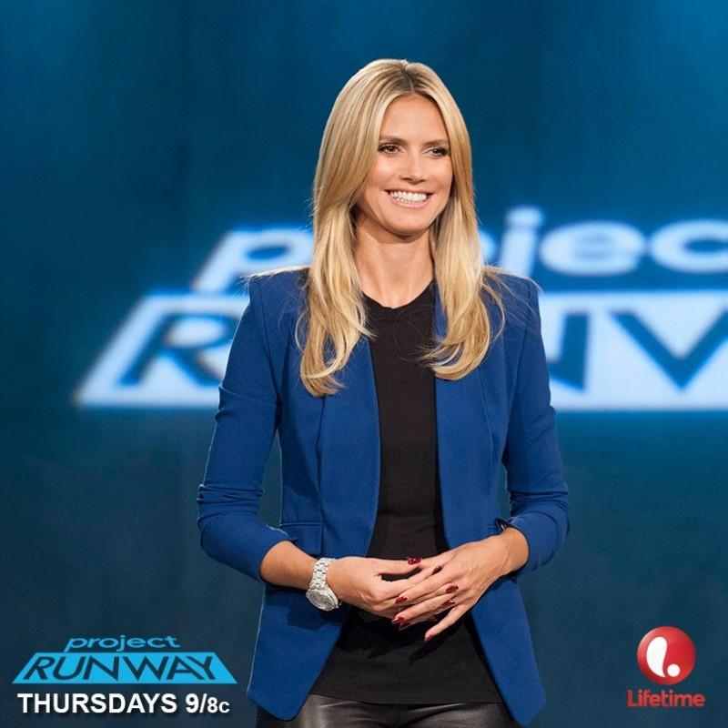 """Project Runway"" host Heidi Klum / Image: Lifetime"