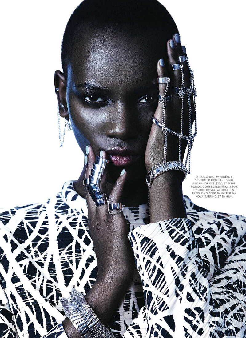 herieth paul fashion shoot3 Express Yourself: Herieth Paul Wears Bold Prints for Fashion Shoot