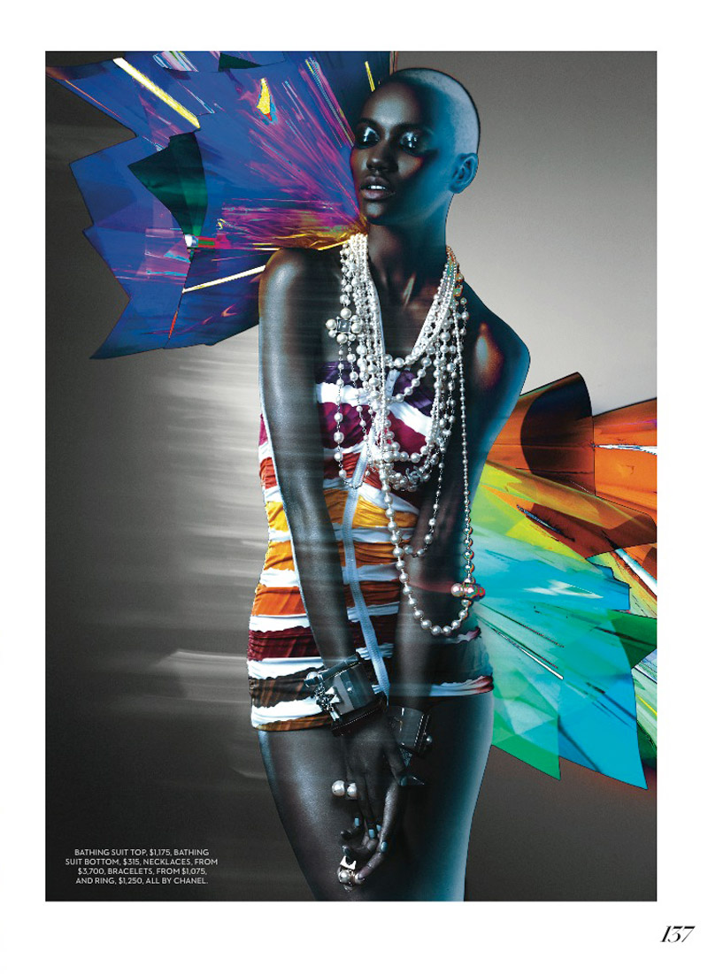 herieth paul fashion shoot4 Express Yourself: Herieth Paul Wears Bold Prints for Fashion Shoot