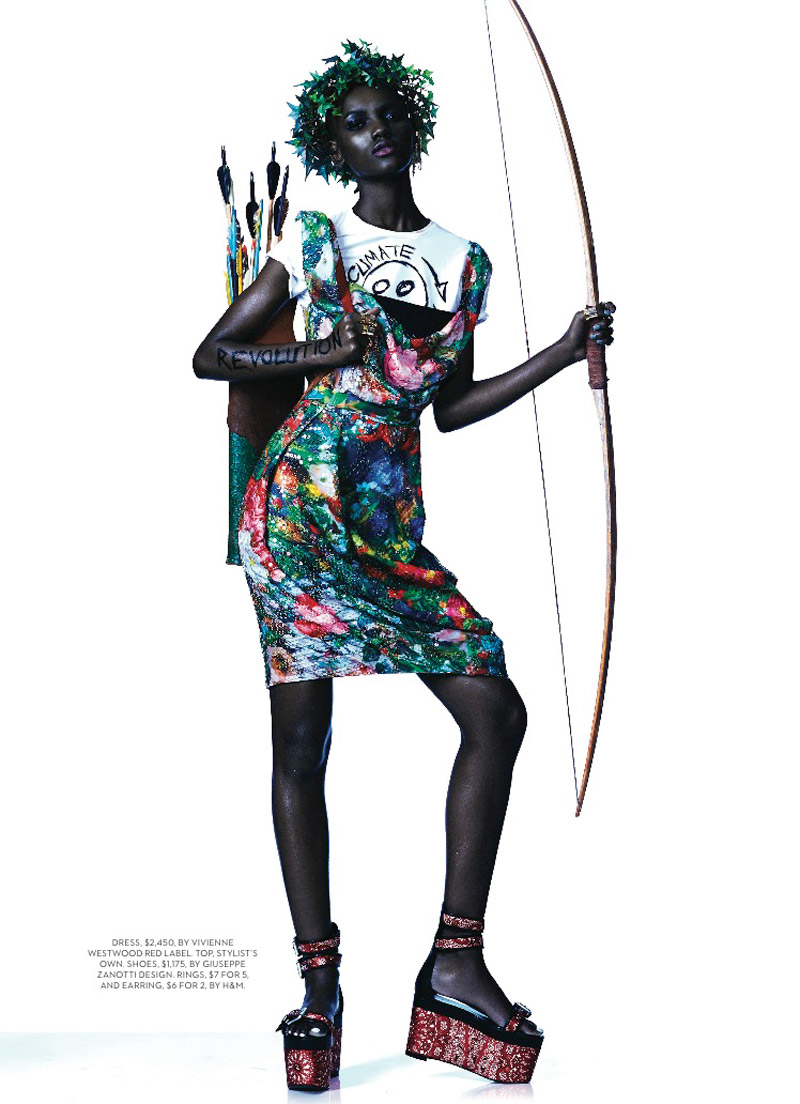 herieth paul fashion shoot5 Express Yourself: Herieth Paul Wears Bold Prints for Fashion Shoot