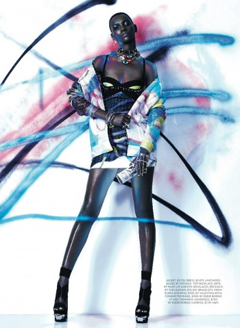 Express Yourself: Herieth Paul Wears Bold Prints for Fashion Shoot